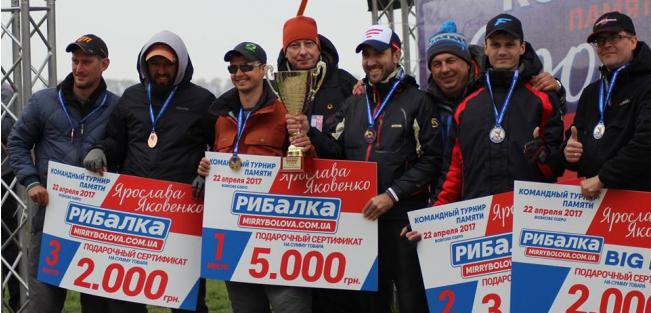 Звіт з турніру пам'яті Ярослава Яковенко