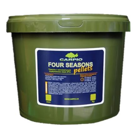 Пеллетс Carpio Four Seasons 7 кг