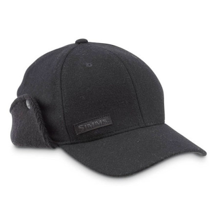 Кепка Simms Wool Scotch Flexfit Flap Cap Black