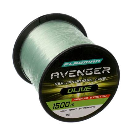 Леска Avenger Olive 1500m