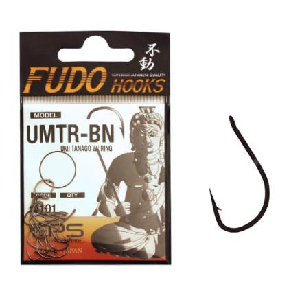 Крючки Fudo UMI Tanago W/Ring Black