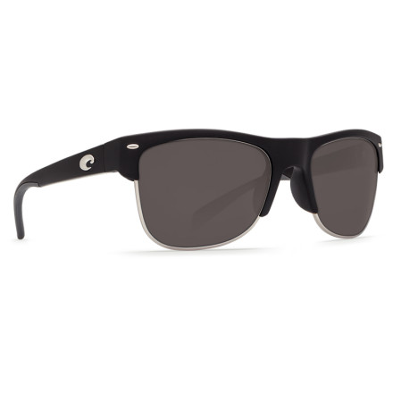 Очки Costa Del Mar PAWLEYS MATTE BLACK GRAY 580G