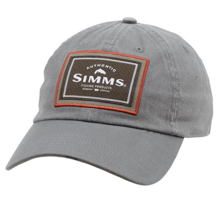 Кепка Simms Single Haul Cap Gunmetal
