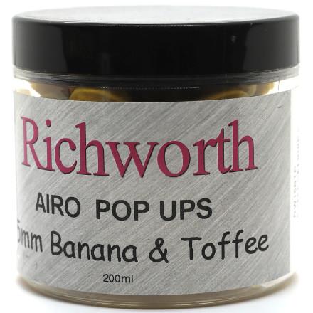 Бойлы Pop-Ups Richworth Banana Toffee Orig 200ml