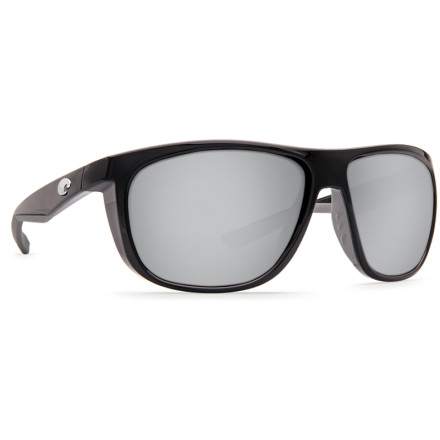 Очки Costa Del Mar KIWA SHINY BLACK SILVER MIRROR 580P