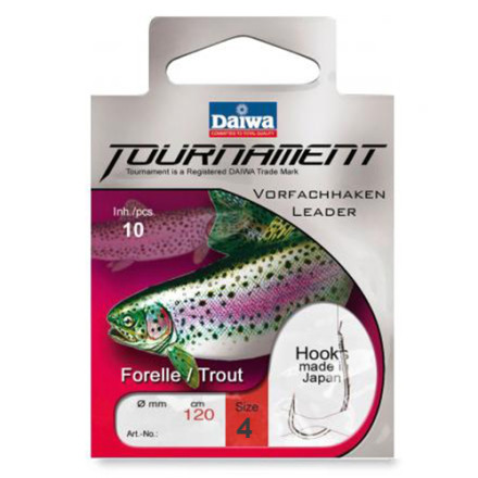 Крючки Daiwa Tournament Forellenhaken