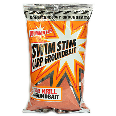 Прикормка DYNAMITE Swim Stim Krill Groundbait