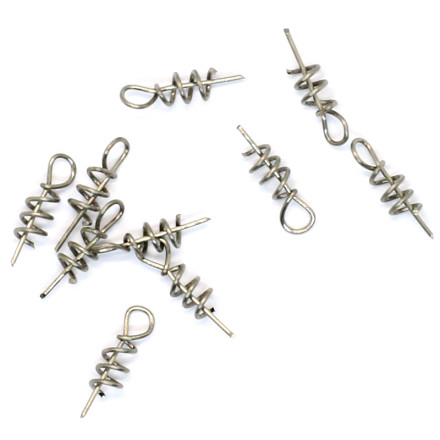 Штопор Python для силикона Pike Shallow screw 10pc