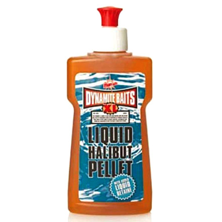 Аттрактант DYNAMITE XL Liquid Halibut Pellet 250ml