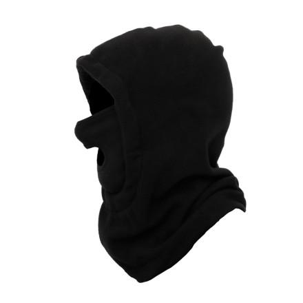 Шапка-маска флис черный