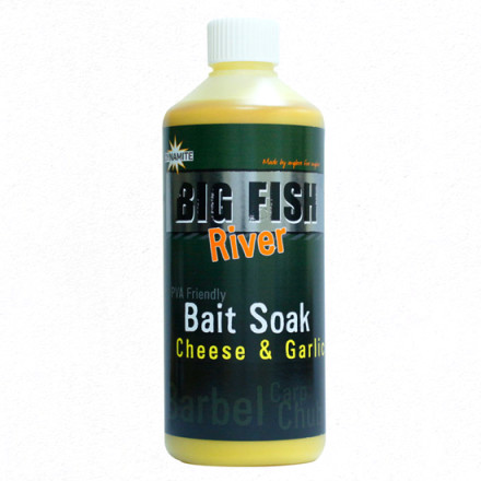 Аттрактант Dynamite Big Fish Bait Soak Cheese &Garlicl 500ml