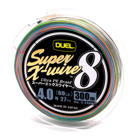 Шнур Duel Super X-Wire 8х Eight 300m Multicolor