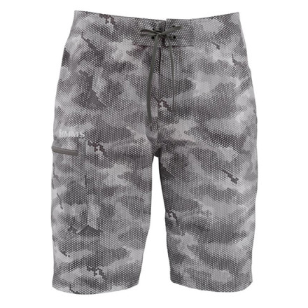 Шорты Simms Surf Short Prints Hex Camo Sterling