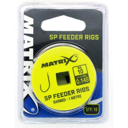 Крючок с поводком Matrix 1m SP Feeder Rigs