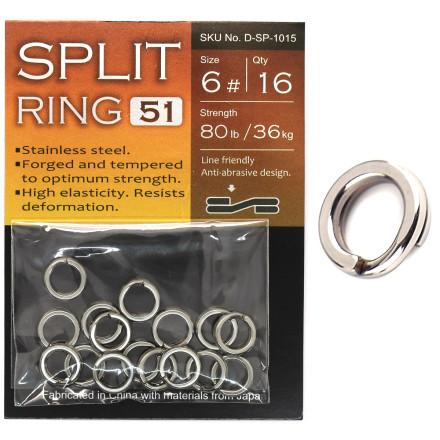 Заводные кольца BKK Split Ring-51