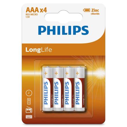 Батарейка Philips солевая