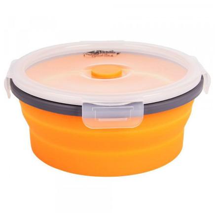 Контейнер Tramp складной с крышкой-защелкой оранжевый