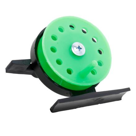 Катушка пластиковая зеленая