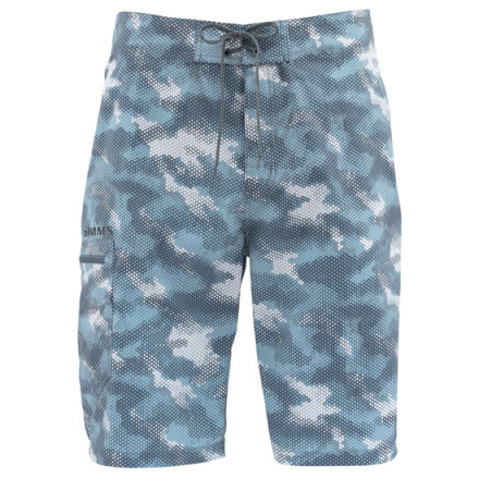 Шорты Simms Surf Short Prints Hex Camo Storm