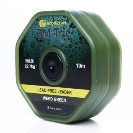Лидкор Ridge Monkey RM-Tec Lead Free Leader Weed Green