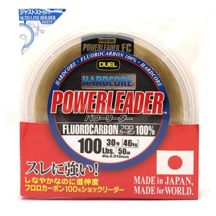 Флюрокарбон Duel Hardcore Power Leader 50m