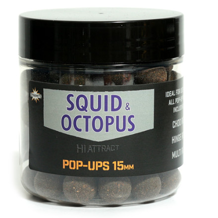 Бойлы Dynamite Pop-Ups Squid & Octopus Hi-Attract