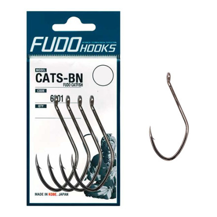Крючки Fudo Catfish Black