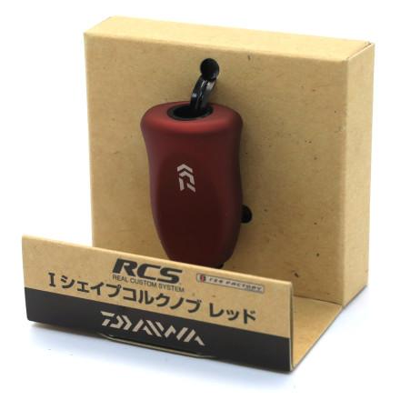 Кноб Daiwa RCS I SHAPE CORK KNOB RED