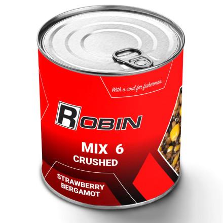 Зерновая смесь дробленная Robin MIX-6 ж/б Клубника-Бергамот