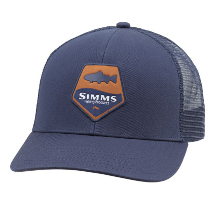 Кепка Simms Trout Patch Trucker Admiral Blue
