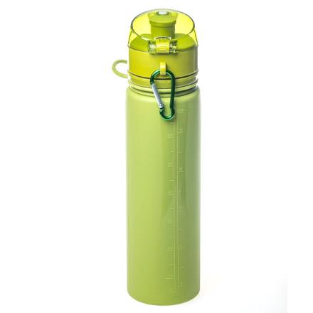 Бутылка Tramp силикон оливковый
