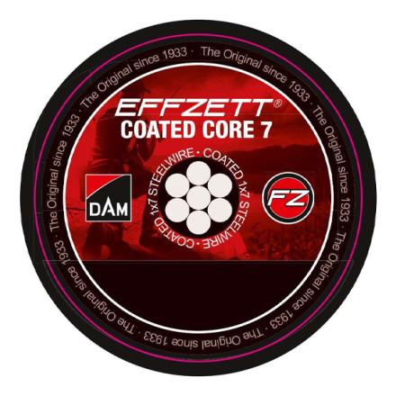 Поводочный стальной материал Dam 1х7 Effzet Coated Core 7 Steeltrace
