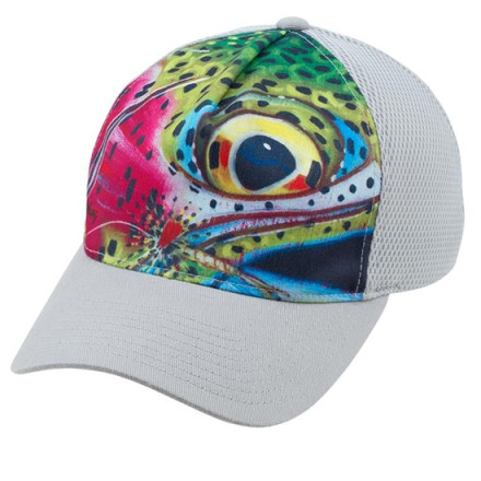 Кепка Simms Flexfit Trucker DeYoung Rainbow Trout