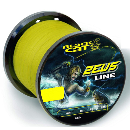 Шнур Black Cat Zeus Line 450m yellow