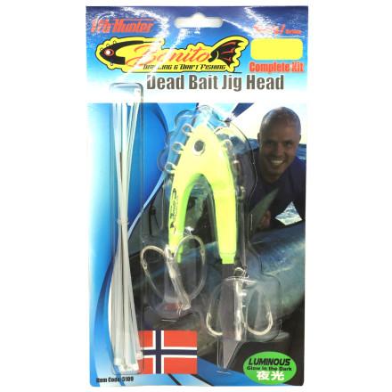 Головка монтажная Bonito Dead Bait jig head-complete Kit 500g