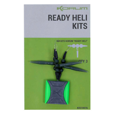 Монтаж Korum Ready Heli Kits