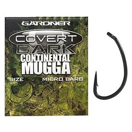 Крючки Gardner Covert Continental-Mugga Hooks Barbed New