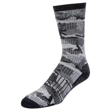 Носки Simms Merino Midweight Hiker Sock Hex Flo Camo Carbon