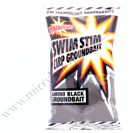 Прикормка DYNAMITE Swim Stim Groundbaits black 900г