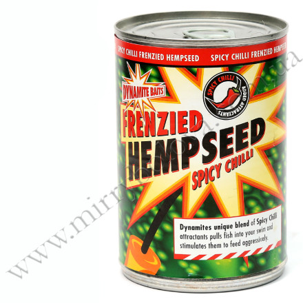 Конопля консервированая DYNAMITE Frenzied Spicy Chilli Hemp 350г