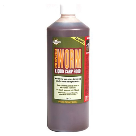 Аттрактант Dynamite Worm Liquid Carp Food 1L