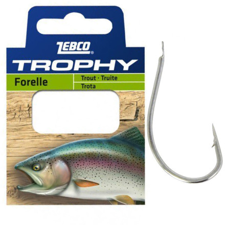 Поводки Zebco Trophy Hooks to Nylon Trout