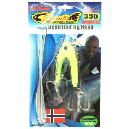 Головка монтажная  Bonito Dead Bait jig head-complete Kit