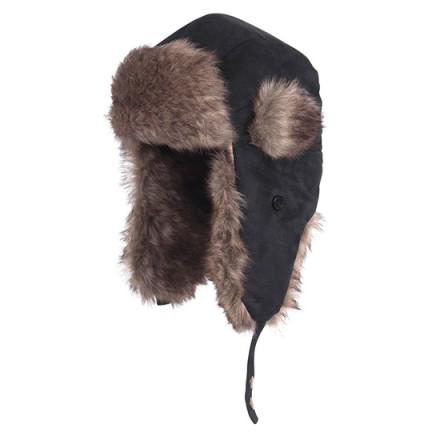 Шапка зимняя Fladen Fur Cap Black