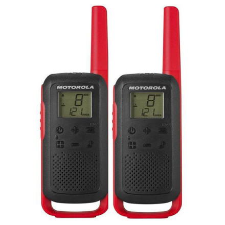 Рация Motorola Talkabout T62 Red Twin Pack & Chgr WE