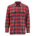 Рубашка Simms ColdWeather Shirt Red Buffalo Plaid
