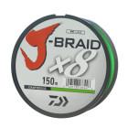Шнур Daiwa J-Braid X8 Chartreuse 150м