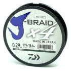 Шнур Daiwa J-Braid X4E Dark Green 135 м
