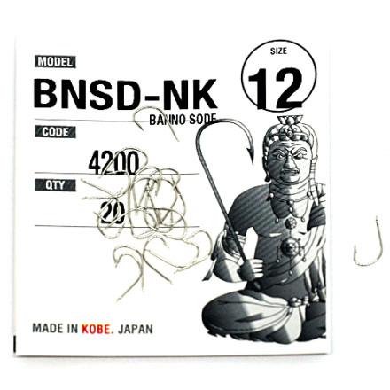 Крючки Fudo Banno Sode Nickel