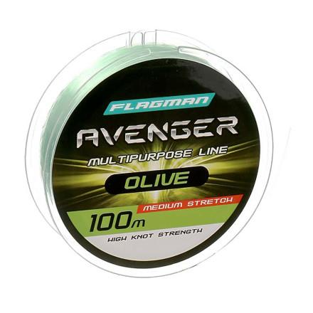 Леска Avenger Olive 100m